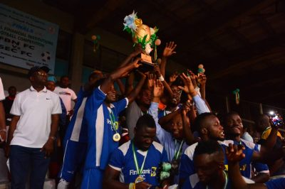 First Bank FC Beat SEC 4-2 To Lift 2018 CBN Cup