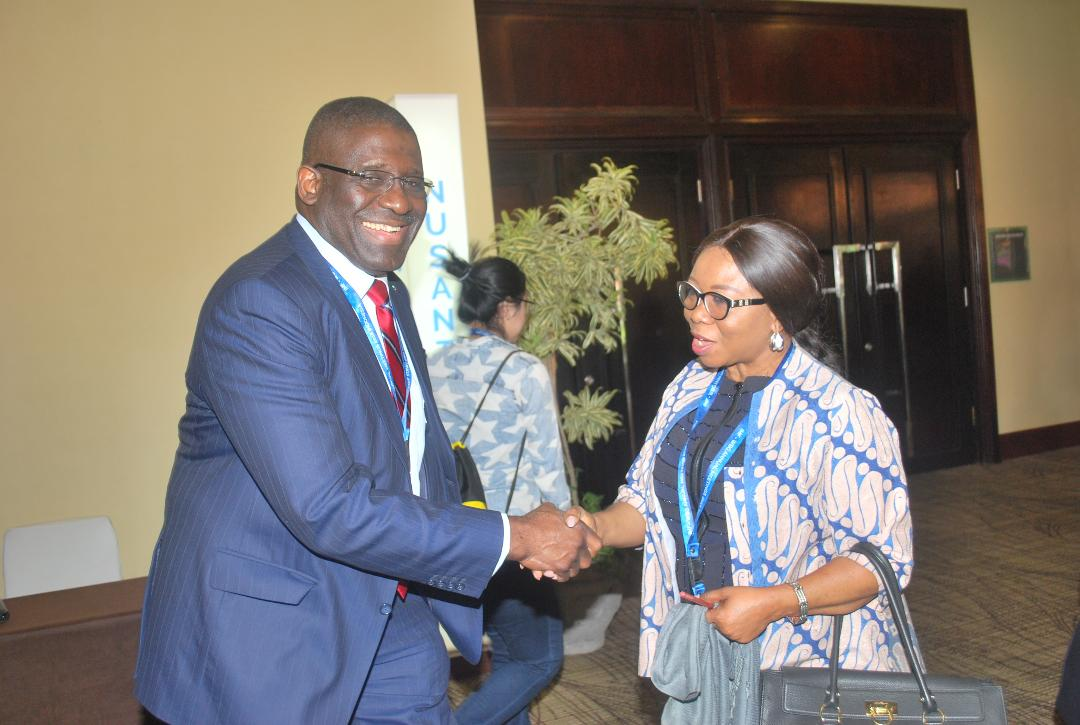 Photo News: Acting DG @SECNigeria, @BOINigeria Executive At @WorldBank Annual Meetings