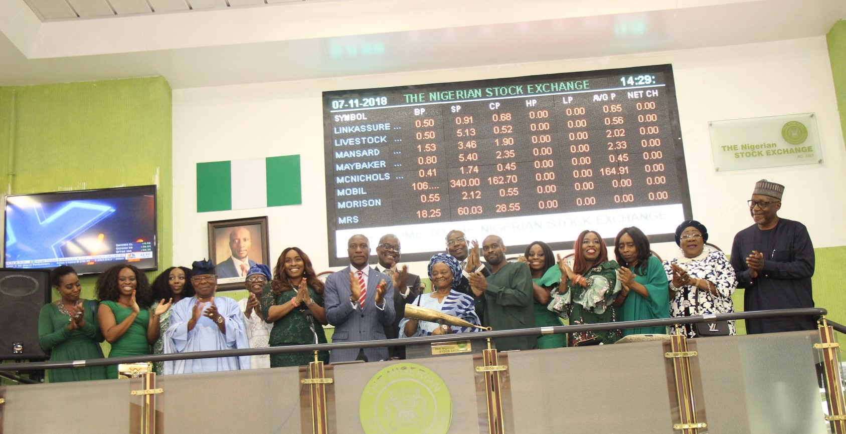 Photo News: NSE Honours Alile, Past DG At Posthumous Closing Gong Ceremony