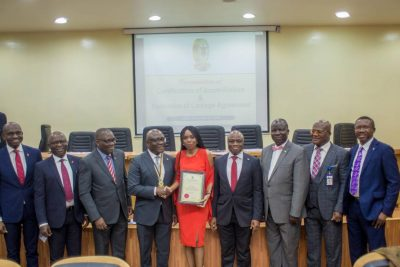 Training, Capacity Building: CIBN Certifies UBA Academy
