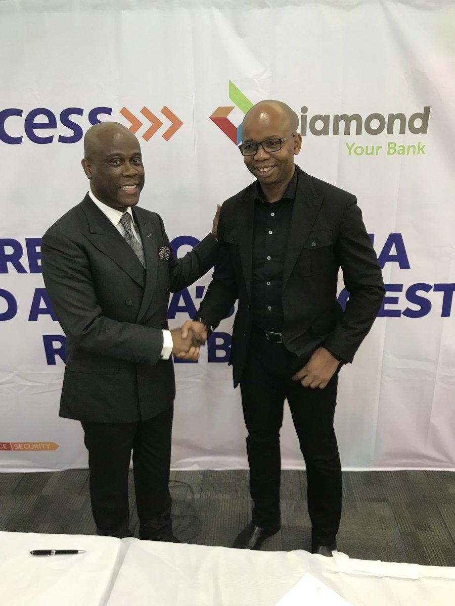 Photo of Access, Diamond Banks Get CBN 'No-Objection' For Merger, Write SEC, Pencom