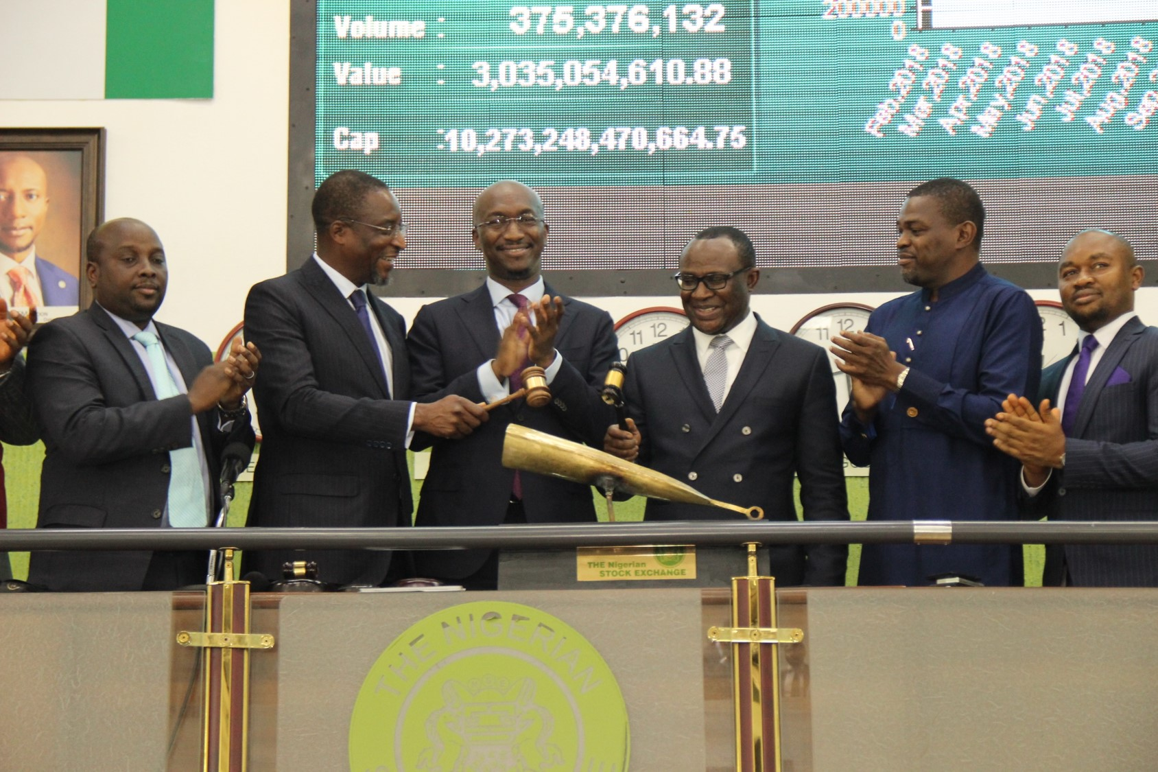 Photo News: NSE Lists N11bn 13.80% Series 2 Fixed Rate NMRC Bonds