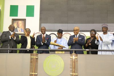 Photo News: FirstBank Marks 125th Anniversary, Directors Sound Closing Gong On @nsenigeria