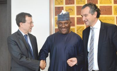 Photo News: French Ambassador Visits BUA Group Headquarters In Lagos