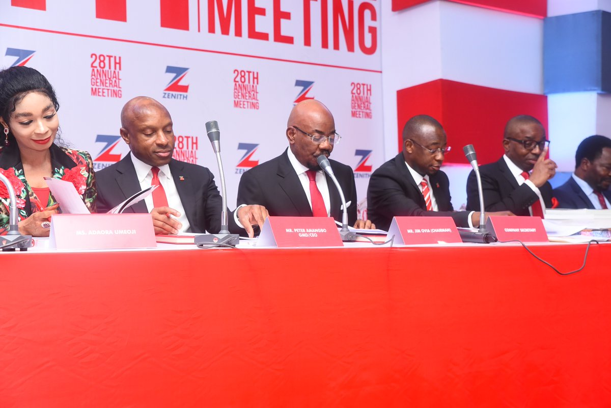 Zenith Bank To Reduce OpEx, Improve Cost Of Funds, Enhance Returns