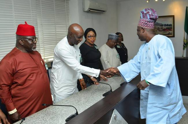 Photo News: NDIC Board Visits Gov. Ibikunle Amosun In Abeokuta