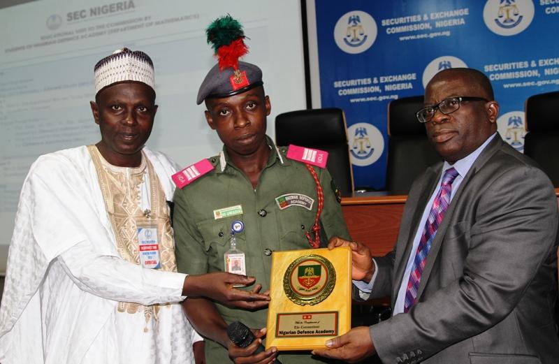 Photo News: NDA Students On Educational Visit To SEC Nigeria