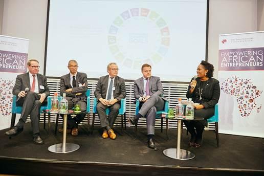 Elumelu Hosts EU Commission, DFIs, Seeks Entrepreneurial Led Growth For Africa