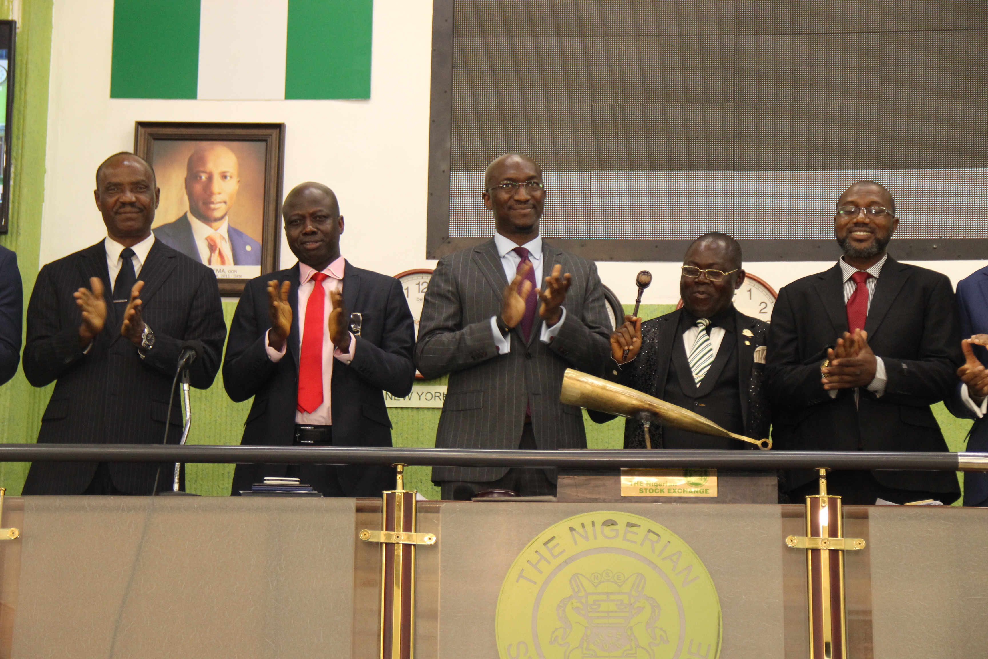 Photo of Photo News: National Accountants Sound Closing Gong On NGSE