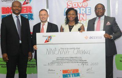 Customers Win N59m in Access Bank Savings Promo