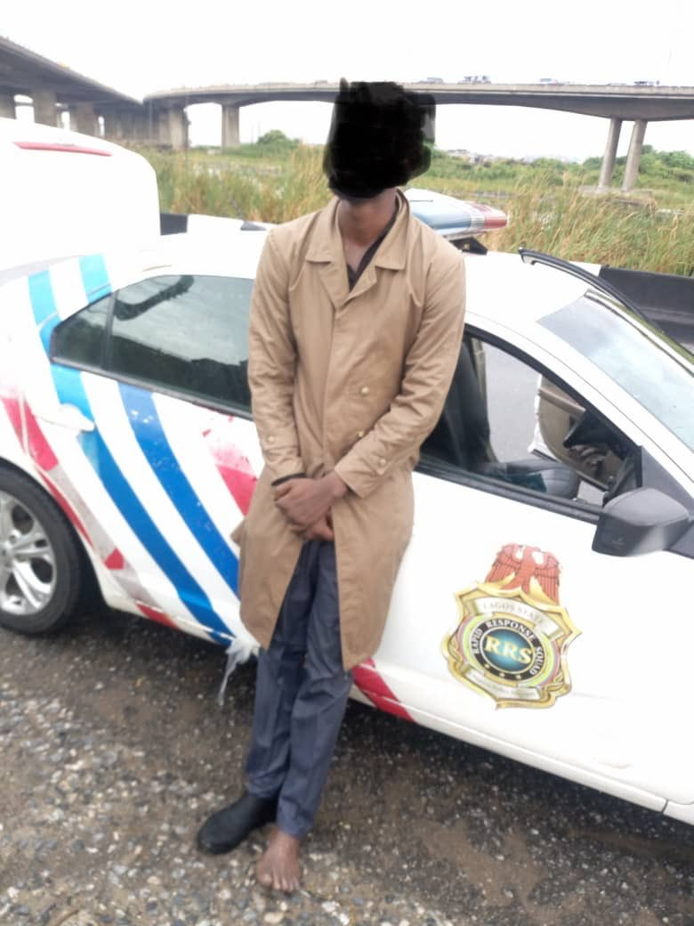Lagos RRS Stops Chartered Accountant From Jumping Off Third Mainland Bridge