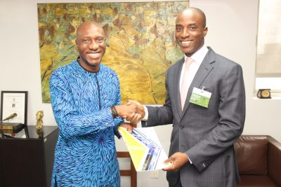 Photo News: UAC of Nigeria GMD On Courtesy Visit To NGSE