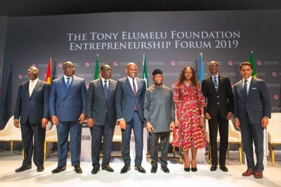 African, Global Leaders Tackle Youth Empowerment At 2019 Elumelu Foundation Forum
