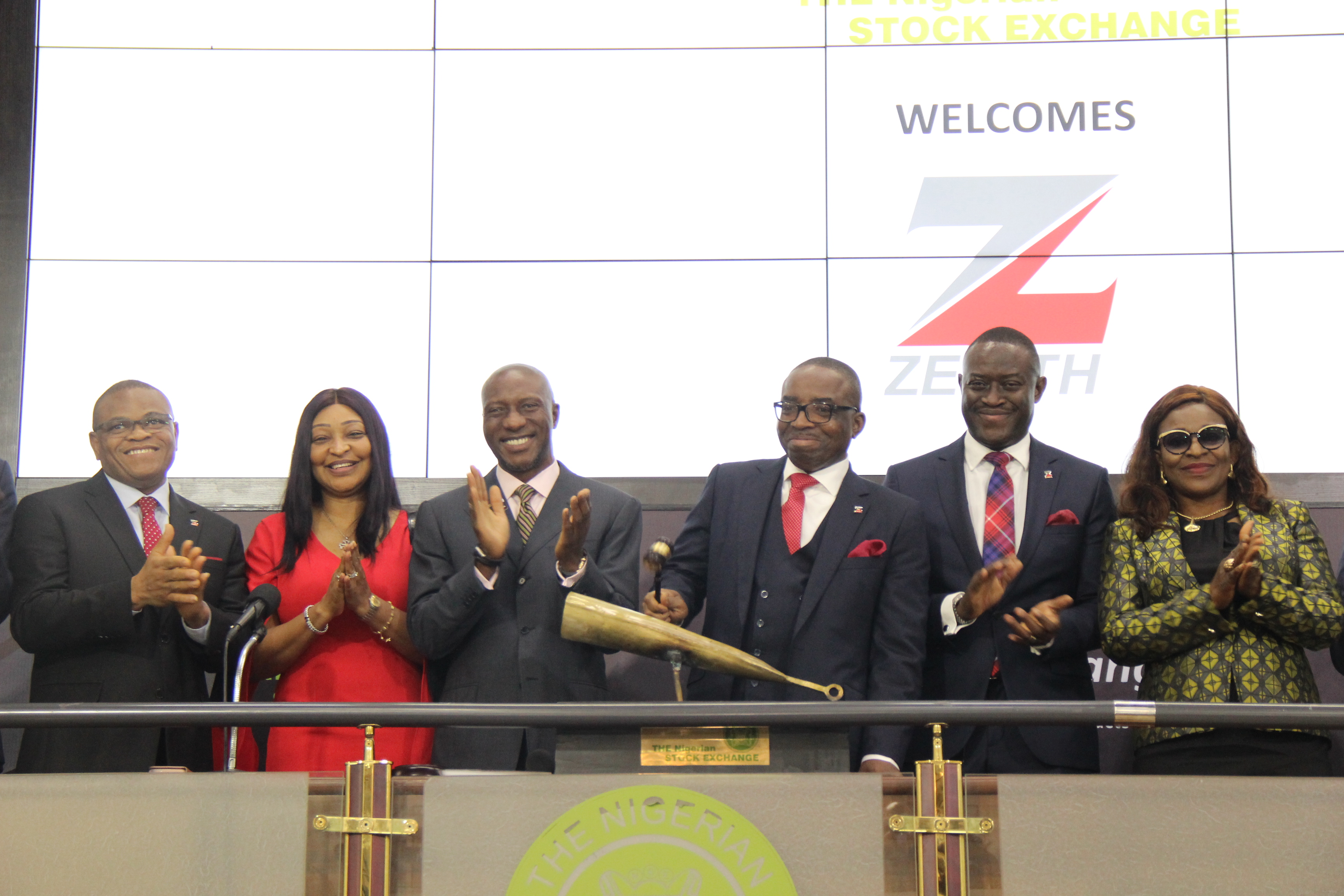 Photo of Photo News: Zenith Bank Management Visits NGSE, Sounds Closing Gong