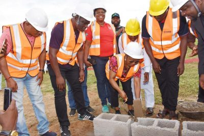 Uduk Performs Groundbreaking Of SEC Staff Estate