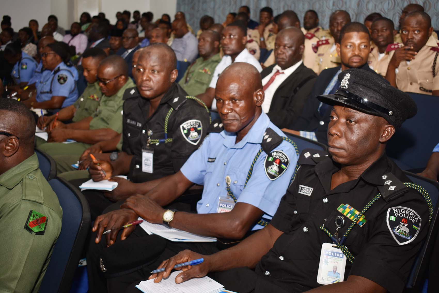Photo of SEC Hosts Enlightenment Outreach For Military, Police
