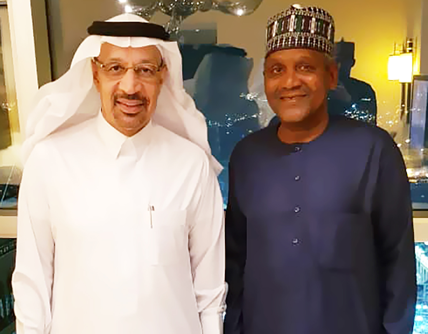 Photo of Photo News: Saudi Minister Visits Dangote Group On Investment In Africa, Partnership With Refinery