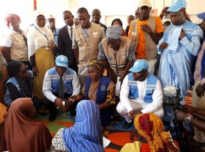 Tinubu, Wigwe Visit Maiduguri IDP Camps, Seek Private Sector Support