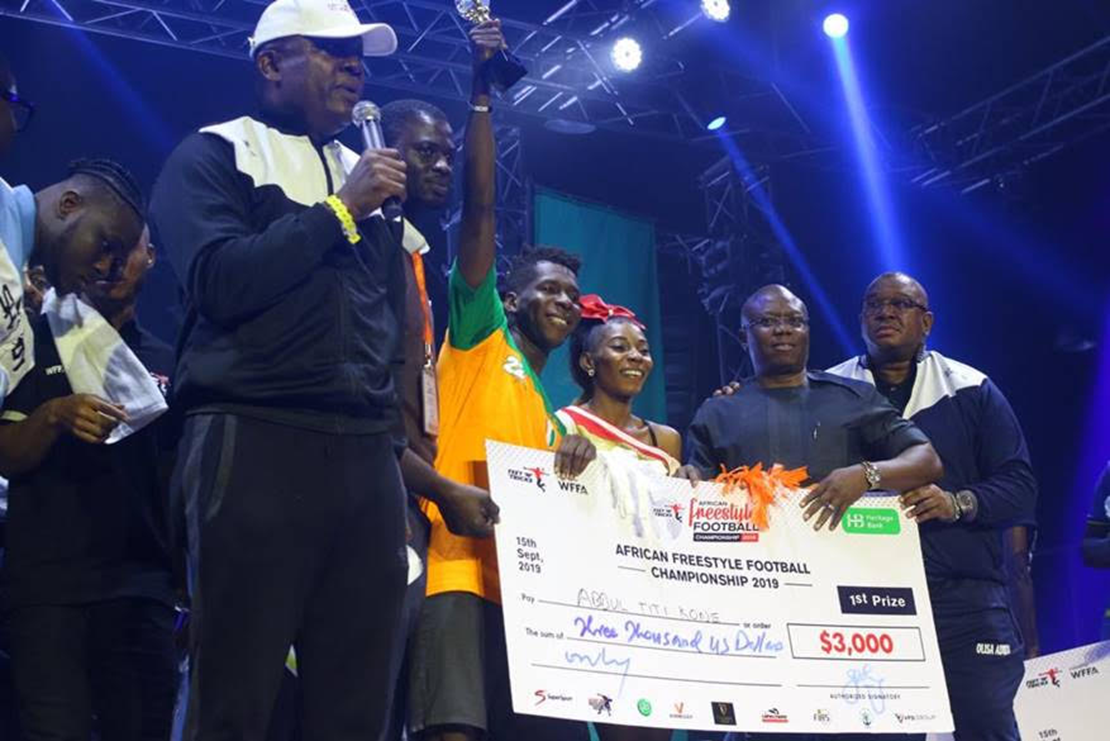 Photo of Photo News: Transcorp GMD, Heritage Bank ED, Hail Freestyle Football Champion