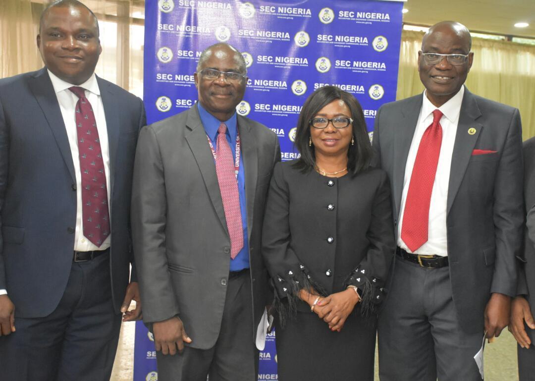 Photo News: Acting SEC DG, Unilag VC, CSCS Chief, At 2-day Int'l Capital Market Confab In Lagos