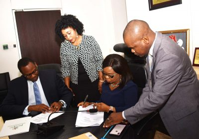 Photo News: SEC, Consumer Protection Comm Sign Merger Review MoU In Abuja
