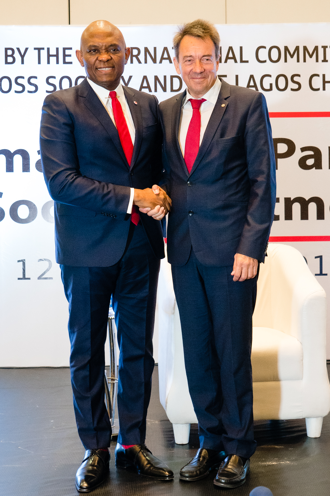 ICRC Boss, Elumelu Seek New Private Sector-led Approach To Charity