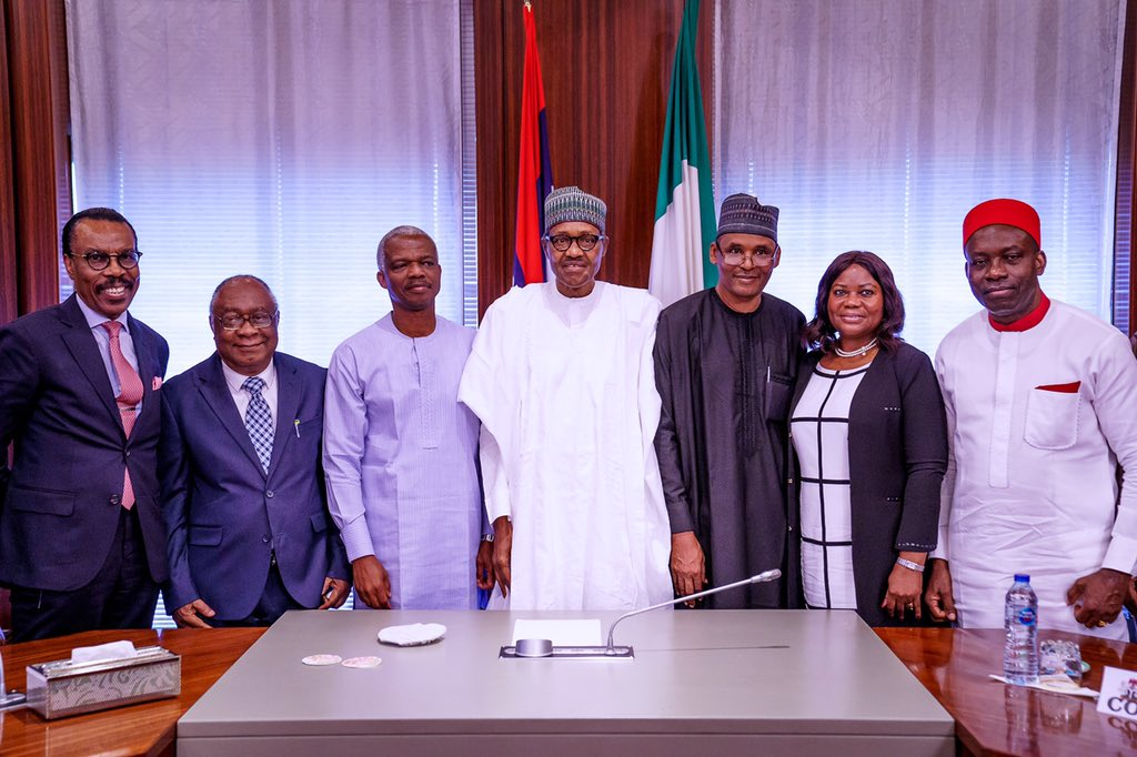 Photo News: Buhari Inaugurates Economic Advisory Council