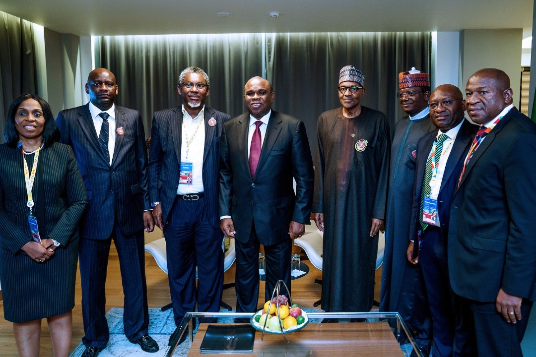 Photo News: Afrexim, Heritage Bank, Meet Buhari On Boosting Solid Minerals Devt In Zamfara