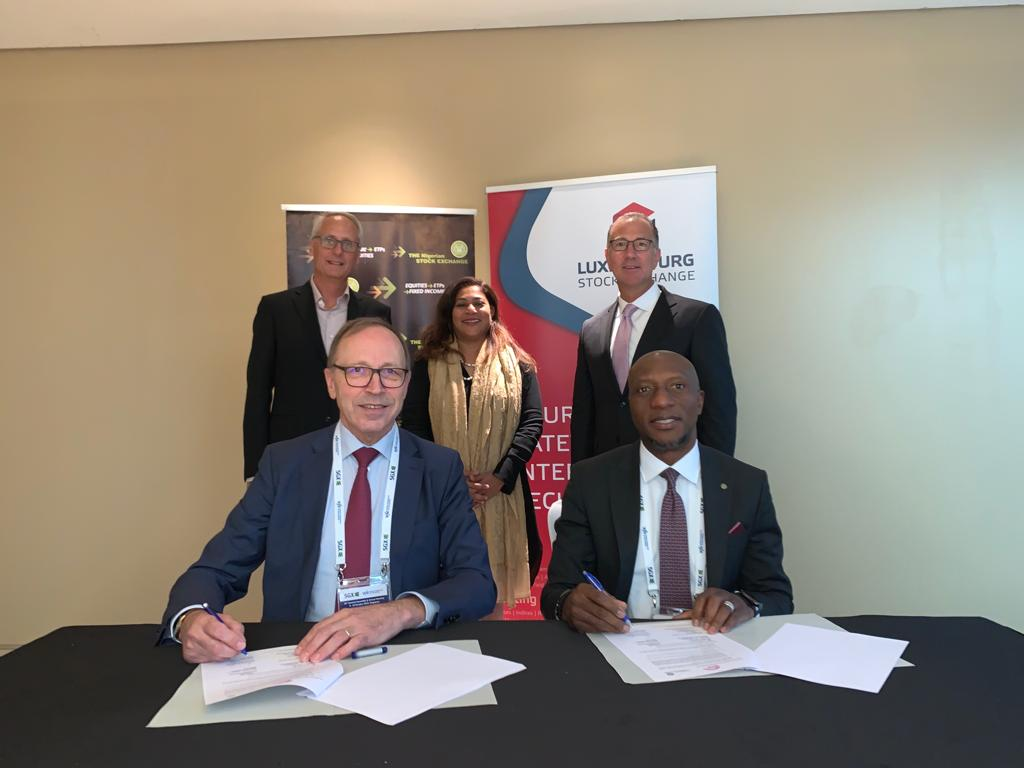 NGSE, Luxembourg Bourse Sign MoU To Develop Green Bond Markets