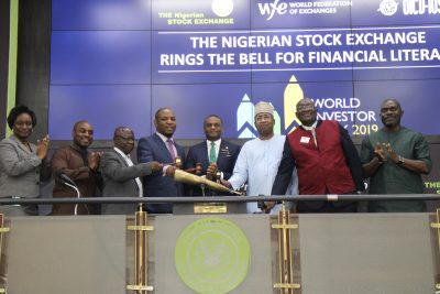 NGSE Ends Investor Week With 'Ring the Bell for Financial Literacy' In Lagos