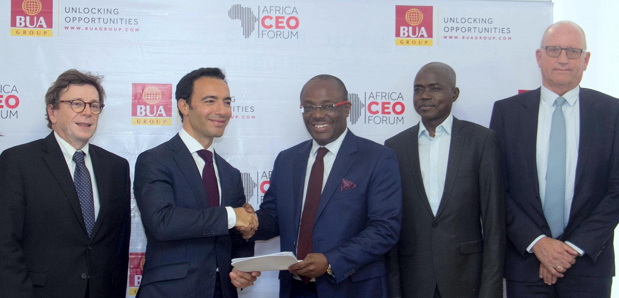 BUA Emerges Main Sponsor of 2020 Africa CEO Forum