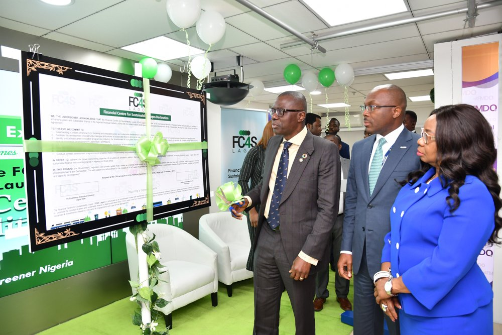 Photo of Photo News: Sanwo-Olu, Uduk, FMDQ MD, At Official Launch Of Centre For Sustainability In Lagos
