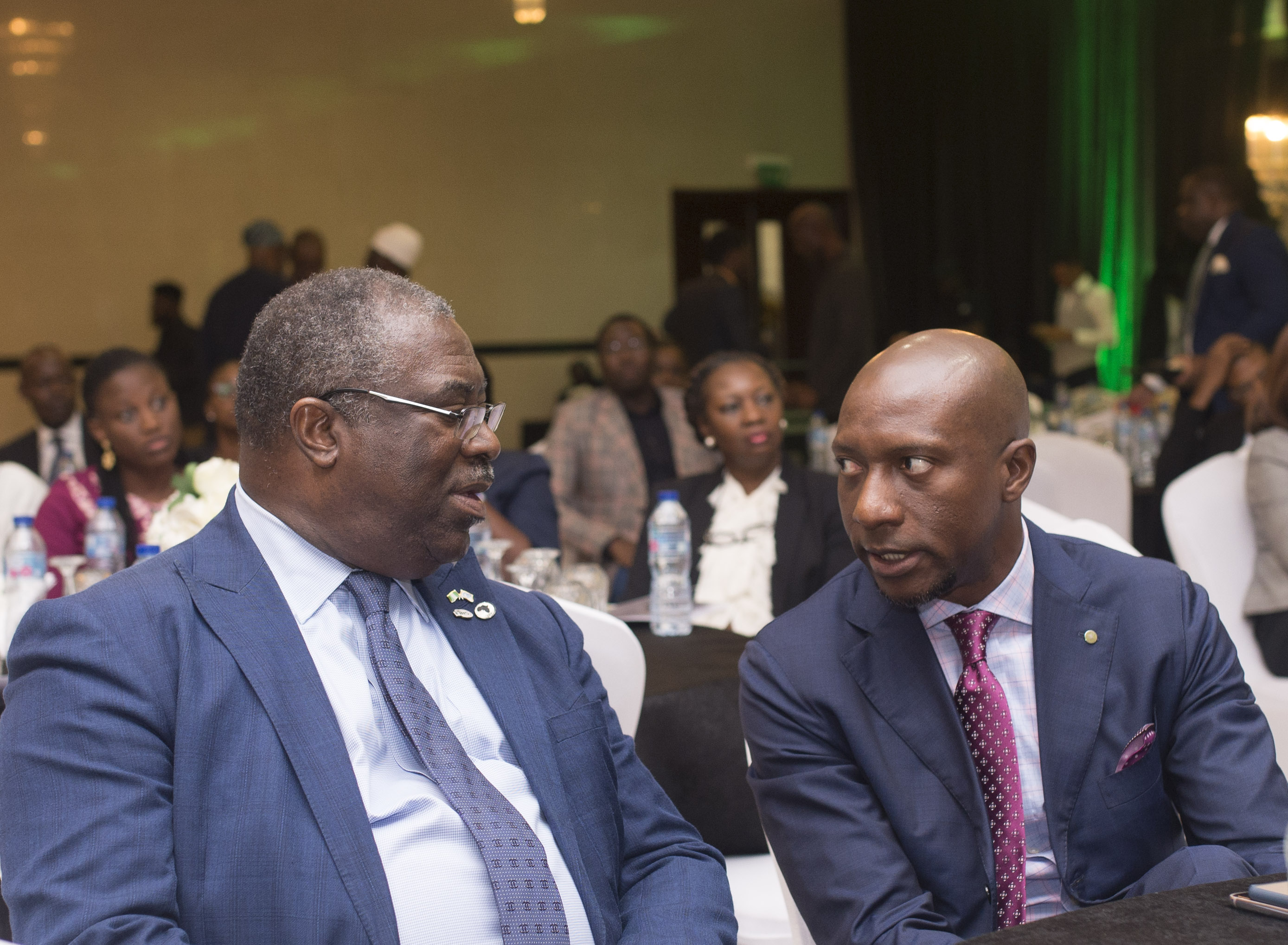 Photo News: Onyema, Fowler At The NSE CEO Interactive Session for Consumer Goods Sector