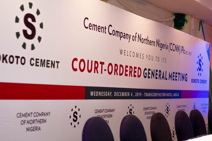 Photo of Shareholders Vote 99.93% For CCNN, Obu Cement Merger