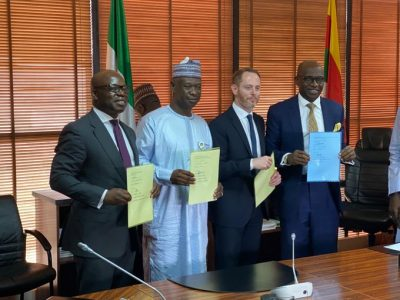 Oando Signs Two Gas Supply Agreements with NLNG