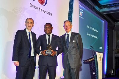 UBA Group Wins The Banker's 2019 African Bank of the Year