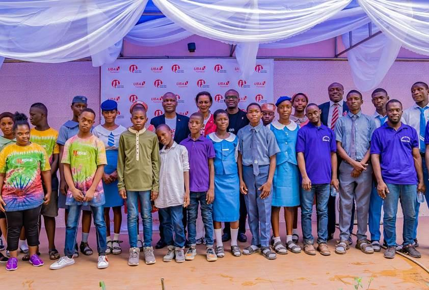 UBA Plc Staff Give Back At Foundation's 'Each-One-Teach-One' Initiative