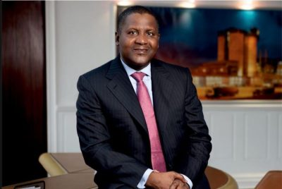 Dangote Rallies Private Sector Operators Against COVID-19