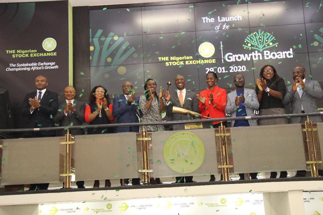 Photo of Photo News: Onyema Sounds Closing Gong, As NGSE Launches Growth Board