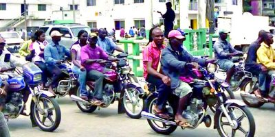 Lagos Decries Traffic Law Violation, Crime, By Motorcycle, Tricycle Riders