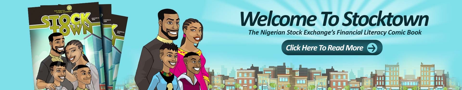 Photo of Financial Literacy: NSE Unveils Maiden Edition of StockTown Comic Book