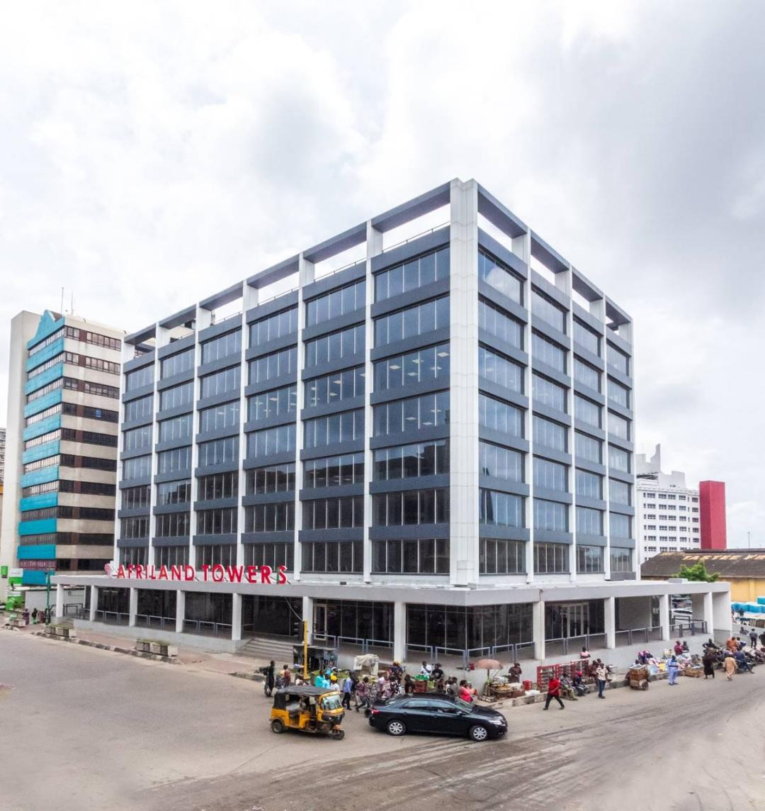 Photo of Sanwo-Olu Commissions Afriland Towers, New UBA Plc Branch