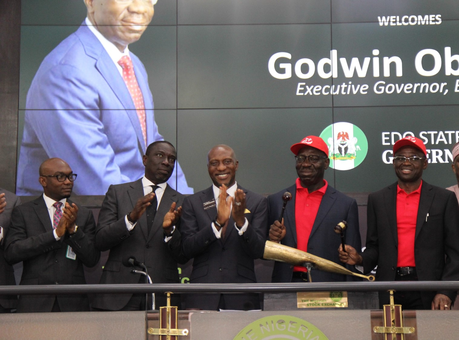 Photo of Delayed: Edo Gov Visits NGSE, Sounds Closing Gong