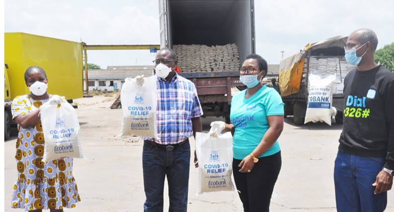 Photo of COVID-19: Ecobank Nigeria Supports States With Food Items