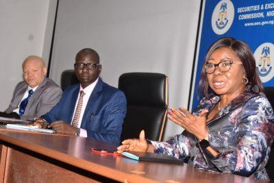Photo News: Outgoing SEC Management Meet Staff