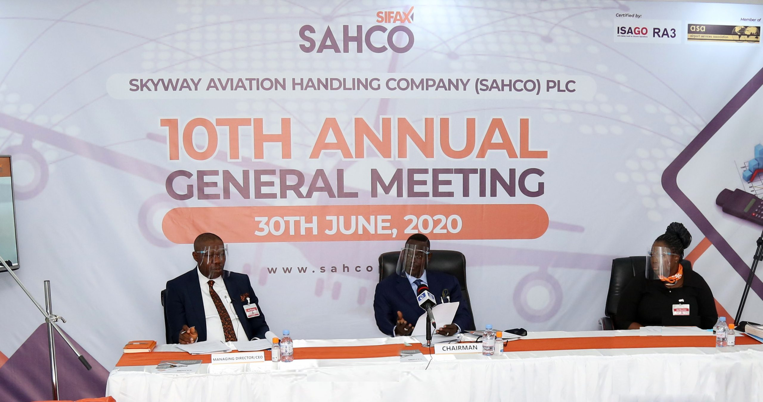 SAHCO Shareholders Approve N223.34m 2019 Dividend