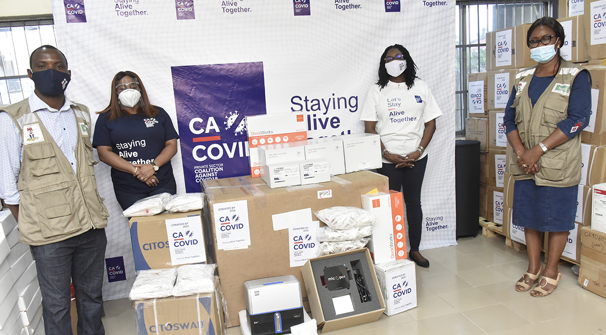 COVID-19: CACOVID Boosts Testing With N1.4bn Medical Equipment, Kits