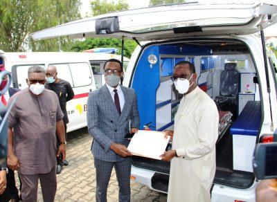BUA Donates Three Ambulances To Delta State's COVID-19 Battle
