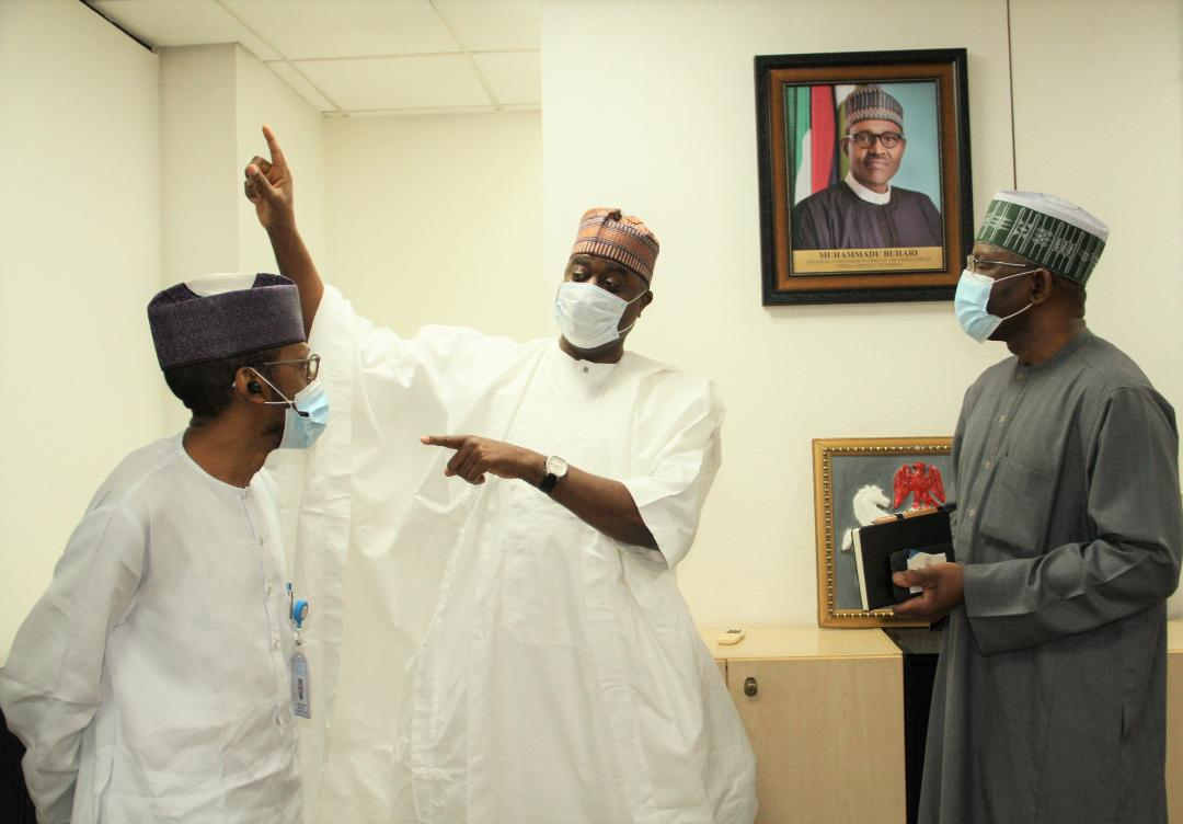 Photo of Photo News: NSE President Meets SEC Management In Abuja