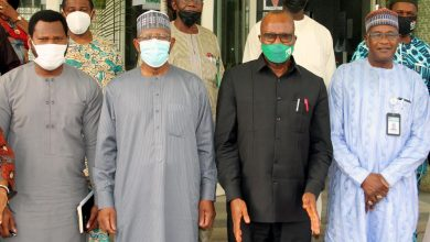 Photo of Photo News: Nigeria's Auditor-General Parleys SEC Management In Abuja